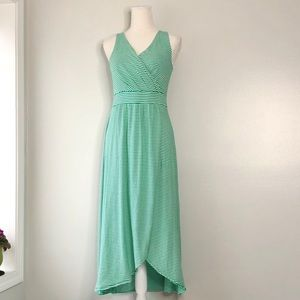 Lands' End Sleeveless Knit Maxi Dress - XS